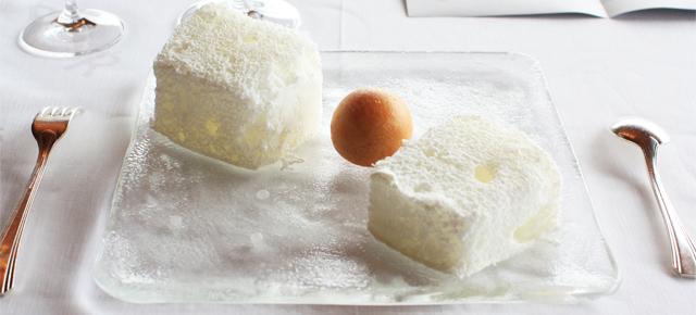 """Xaxu"" and foaming Coconut Ice Cream"